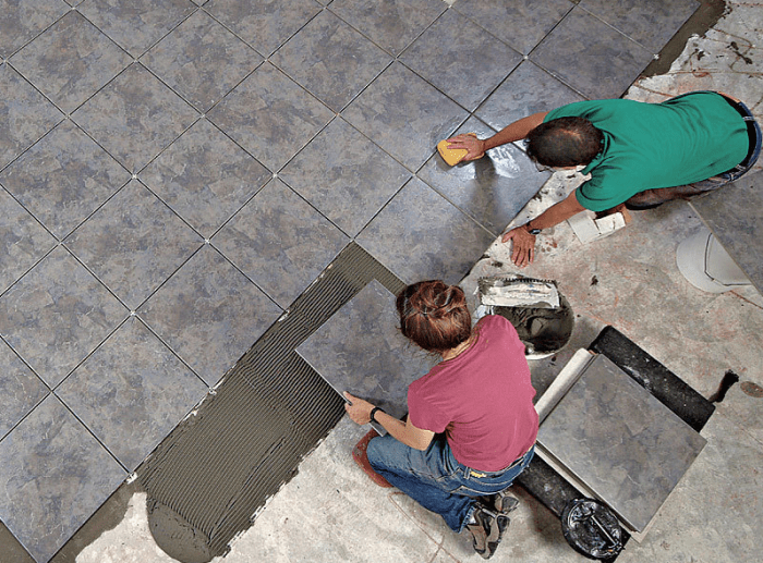 for great tile floors layout is