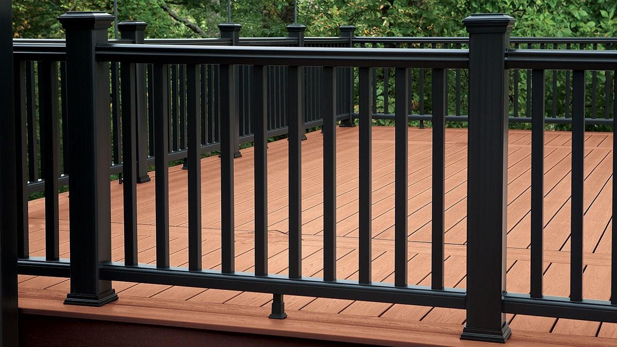Durable Alternatives To Wood Deck Railings Fine Homebuilding   Metal Handrails For Decks   Patio   Decking   Fence   Pool Deck   Vertical Metal
