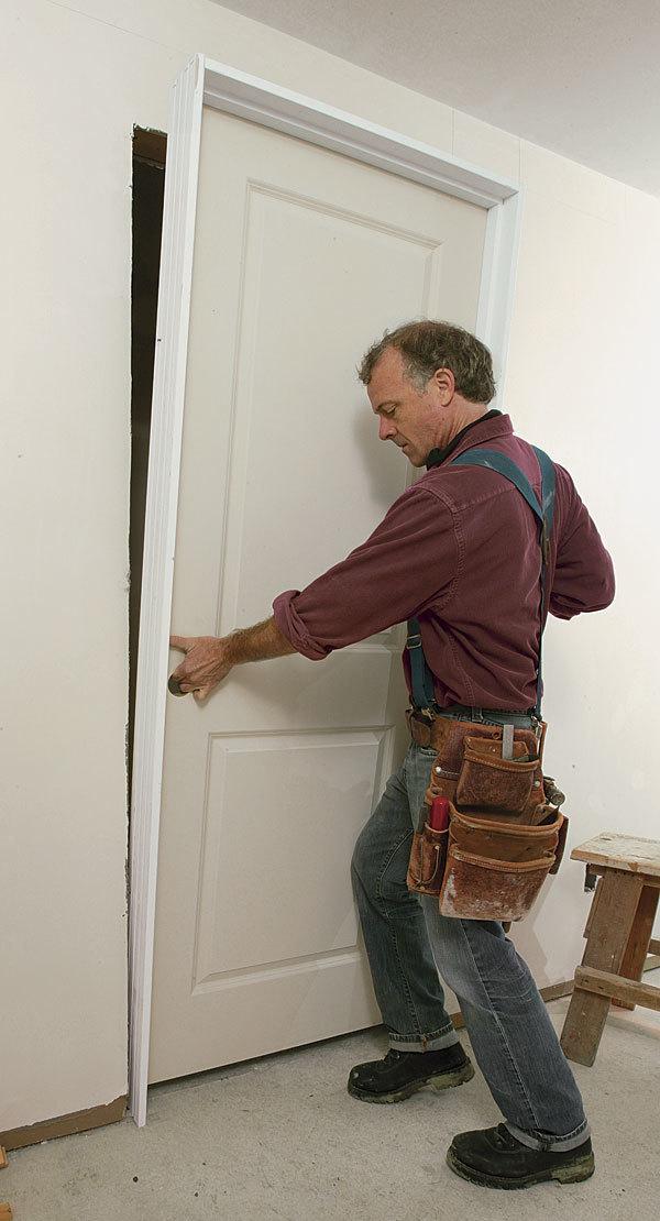 Troubleshooting A Prehung Door Installation Fine