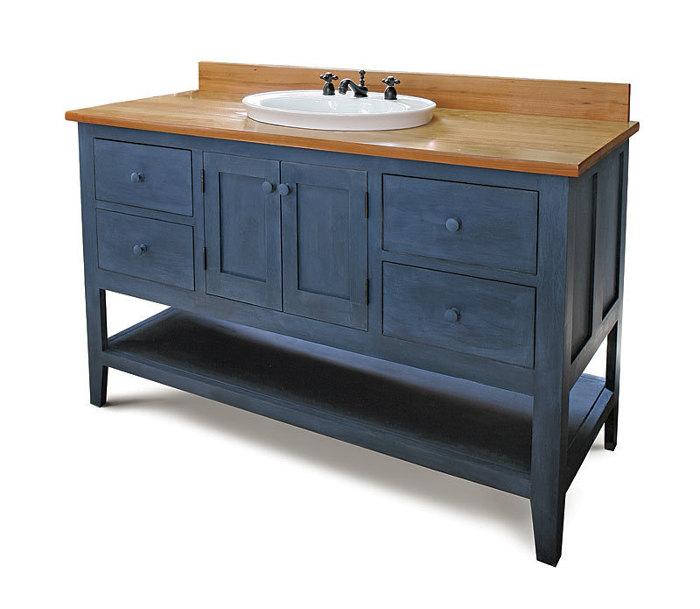 build your own bathroom vanity - fine homebuilding