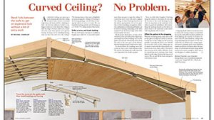 Curved Ceiling? No Problem  Fine Homebuilding