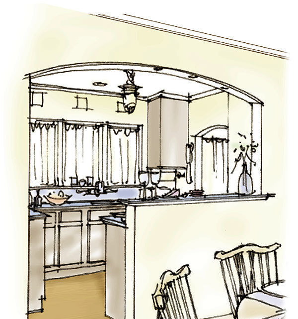Image Result For Opene Kitchen And Living Rooma