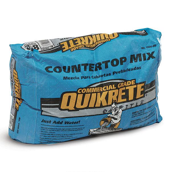 Quikrete Concrete Countertop Mix