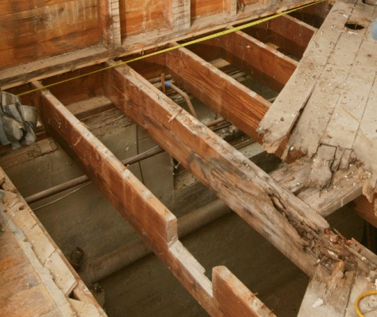 How to Repair a Butchered Floor Joist   Fine Homebuilding Article Image