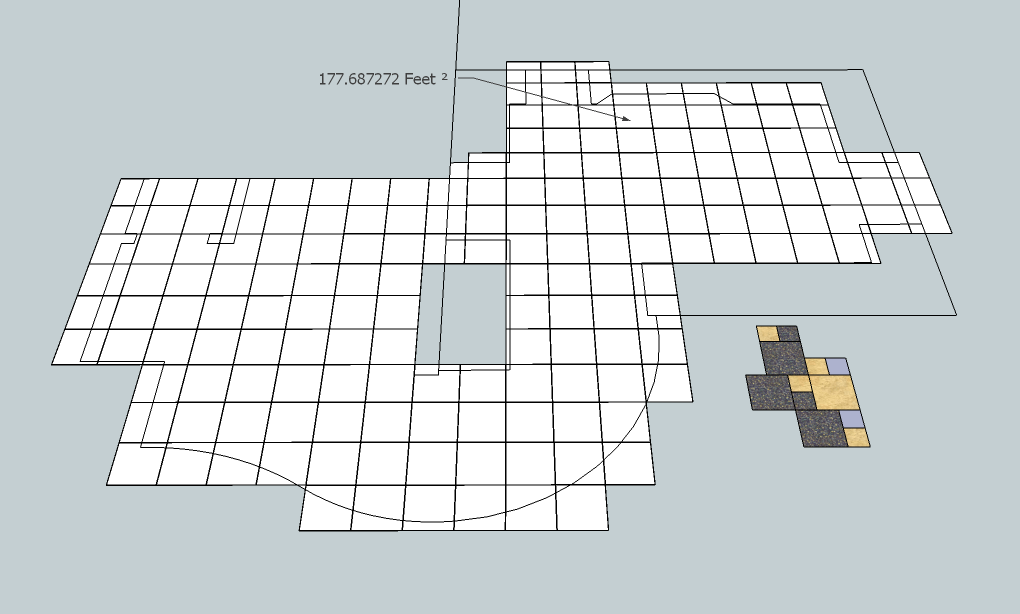 sketchup model to layout estimate