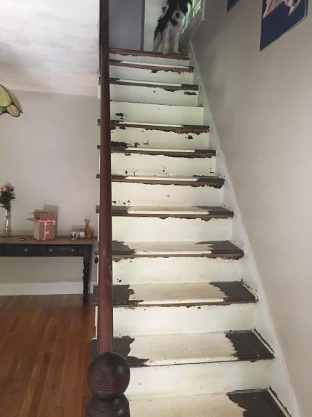 Help Re Installing Balusters Fine Homebuilding   Installing Wood Balusters On An Angle   Stair Parts   Stair Spindles   Banister   Knee Wall   Handrails
