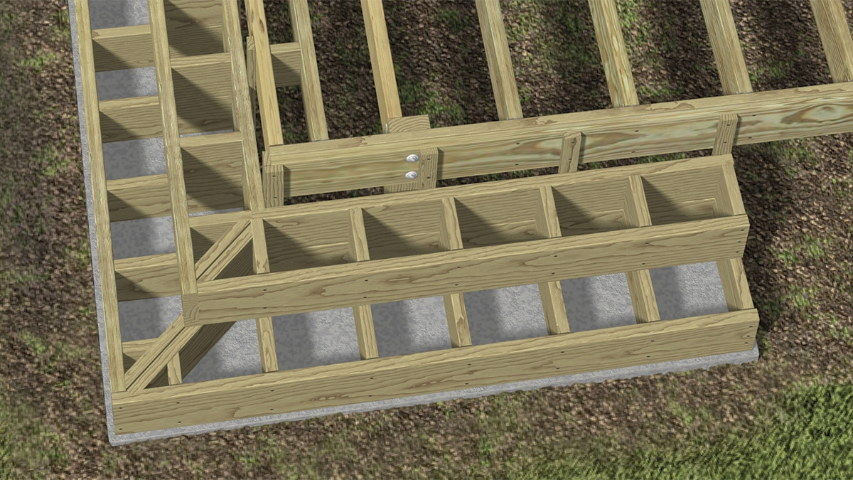 Building Box Style Stairs Fine Homebuilding | Best Wood For Outdoor Stairs | Deck Railing | Stair Stringer | Handrail | Staircase | Railing