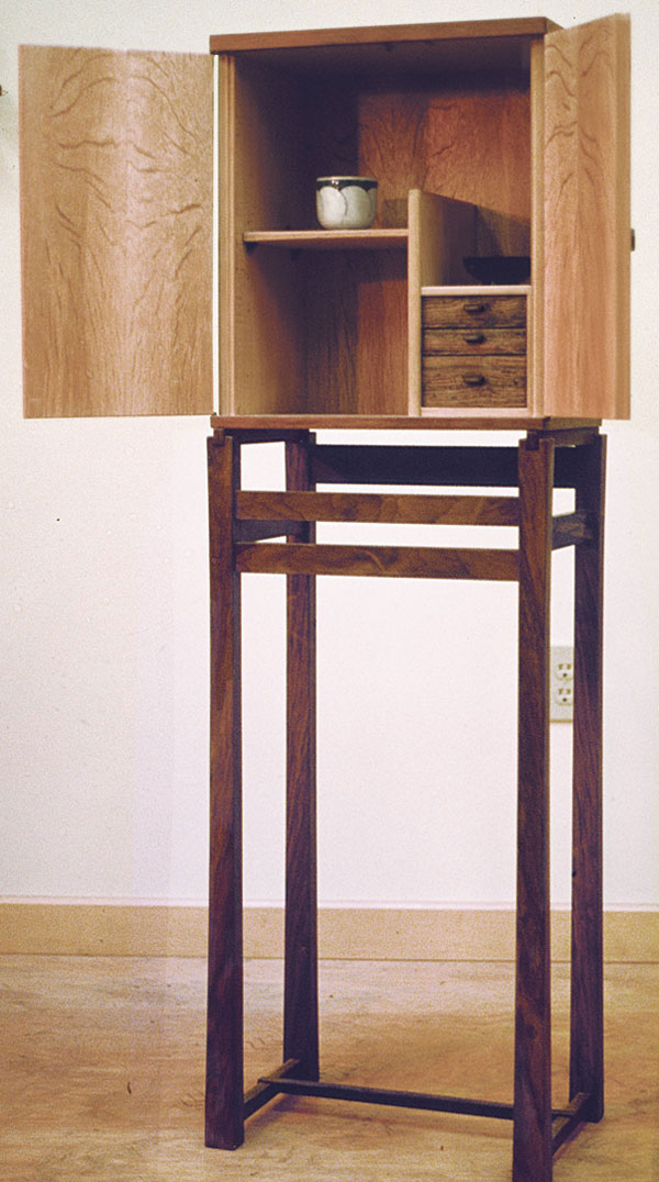 Maple Cabinet On Stand FineWoodworking