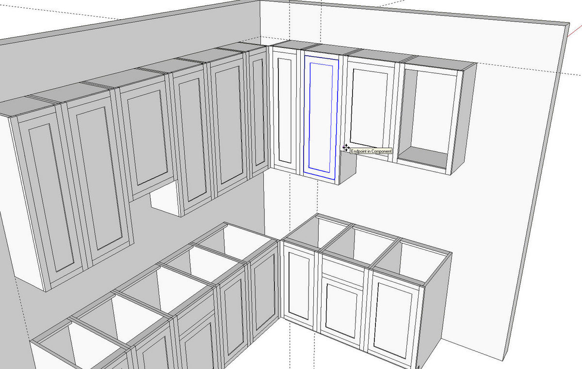 Kitchens In Sketchup Finewoodworking
