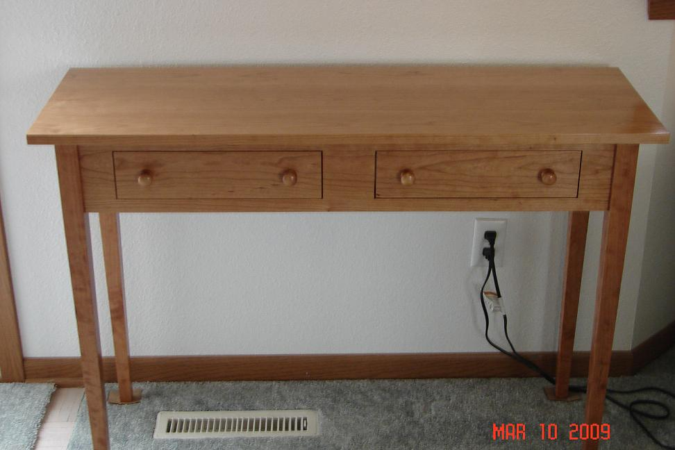 Shaker Hall Table FineWoodworking