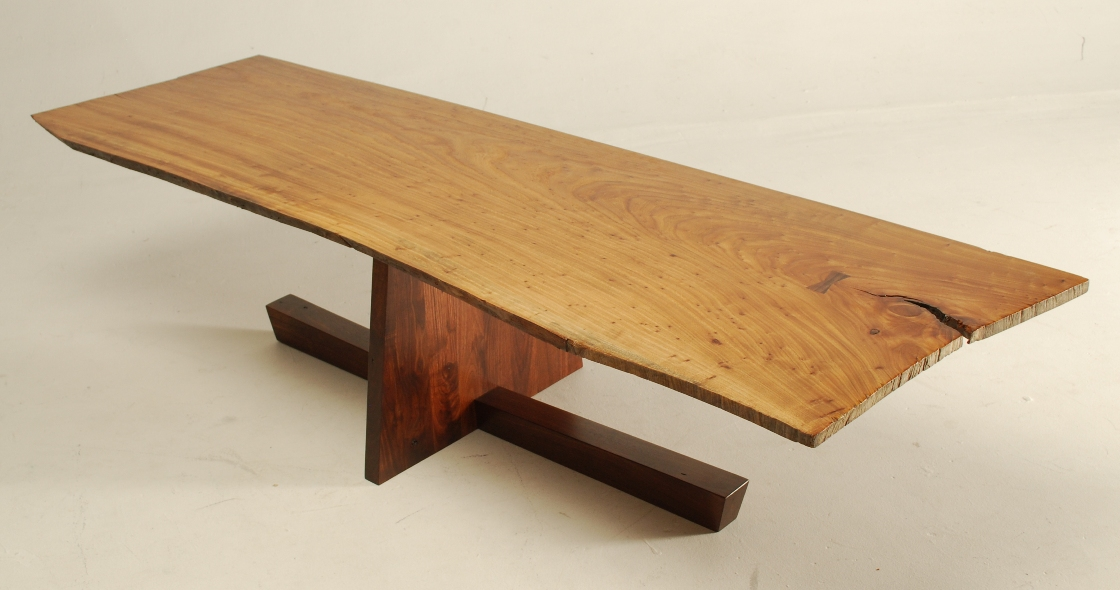George Nakashima Inspired Coffee Table