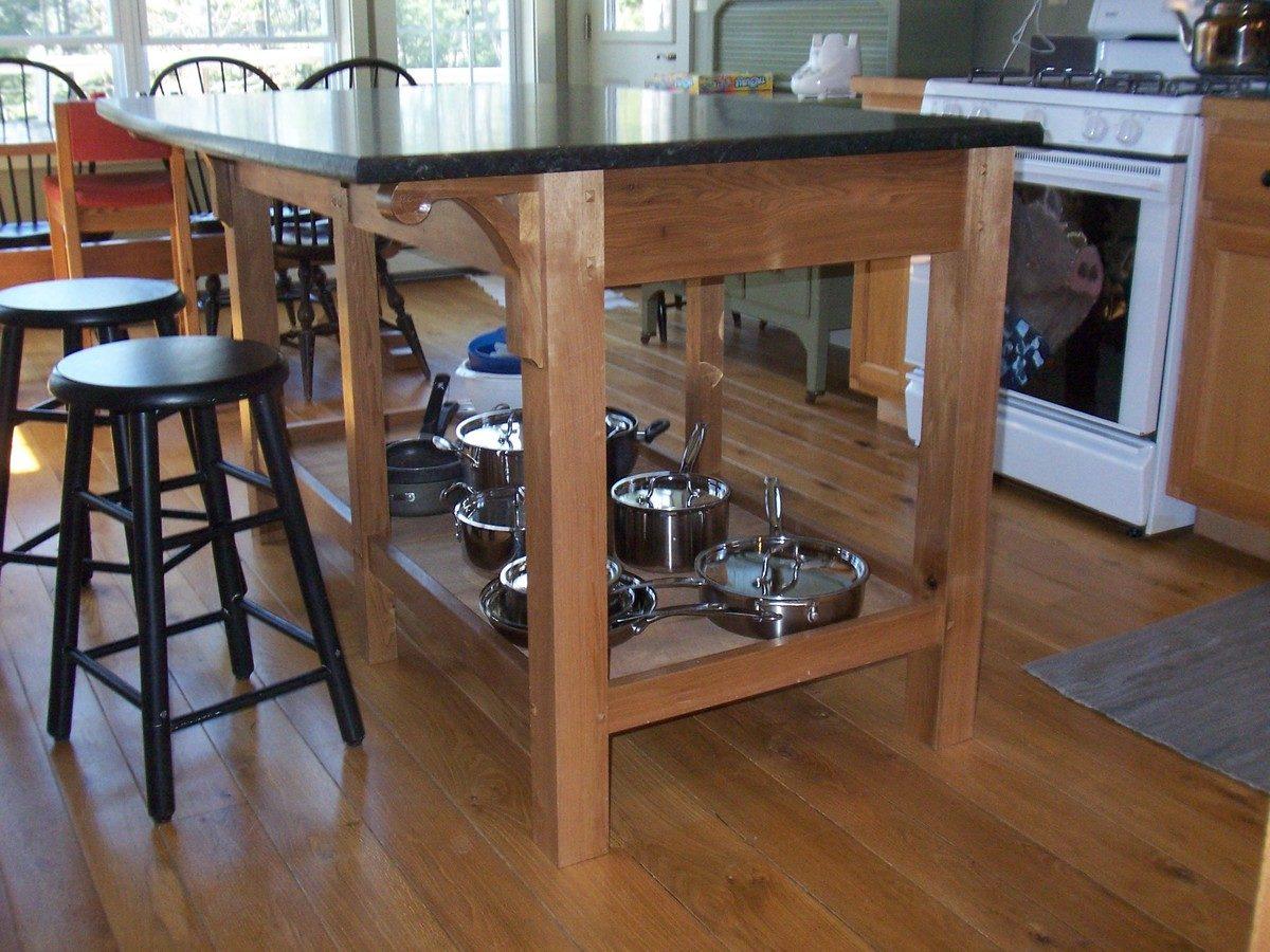 Kitchen Island Finewoodworking