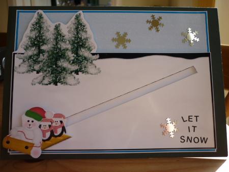 Snow Fun Penny Slider CUP2308630 Craftsuprint