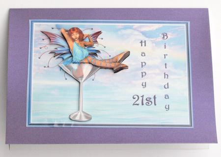 21st Birthday Card For Female Or Male CUP186154489