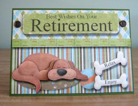 Best Wishes On Your Retirement Card Front CUP206552880