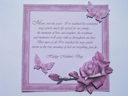 Mothers Day Verse Topper 2 CUP18000916 Craftsuprint