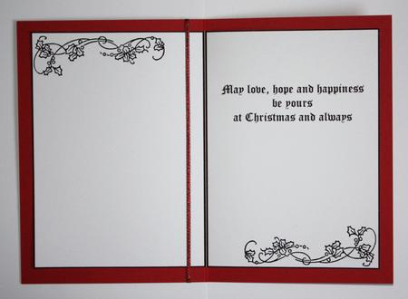 A5 Christmas Card Inserts Set Of 12 Inserts CUP626360