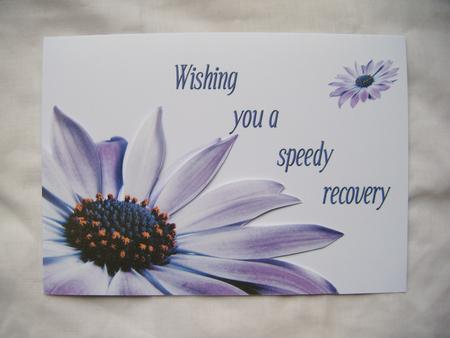 Speedy Recovery Card Sh0044 CUP38120443 Craftsuprint