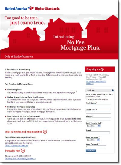 Bank Of America Home Loans Interest Rates - Homemade Ftempo