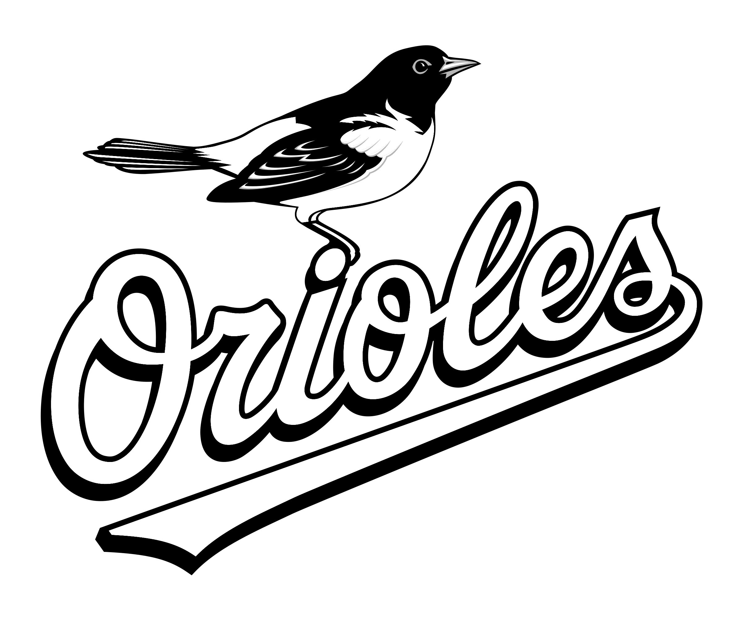 Baltimore Orioles Coloring Pages