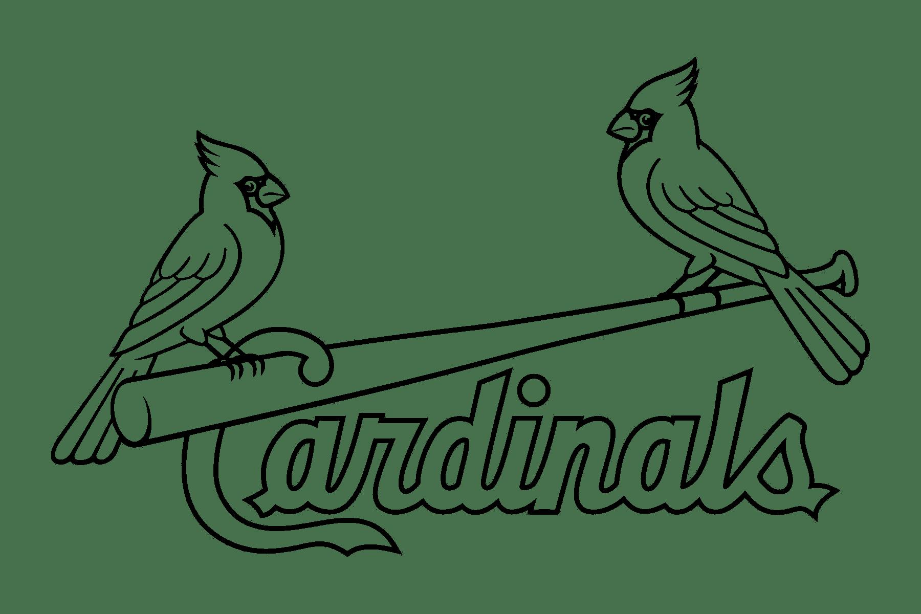 St Louis Cardinals Logo Transparent Amp Svg Vector