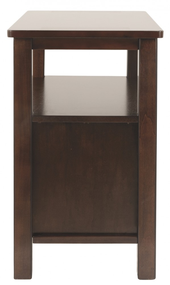 Marion Dark Brown Chair Side End Table T477 7