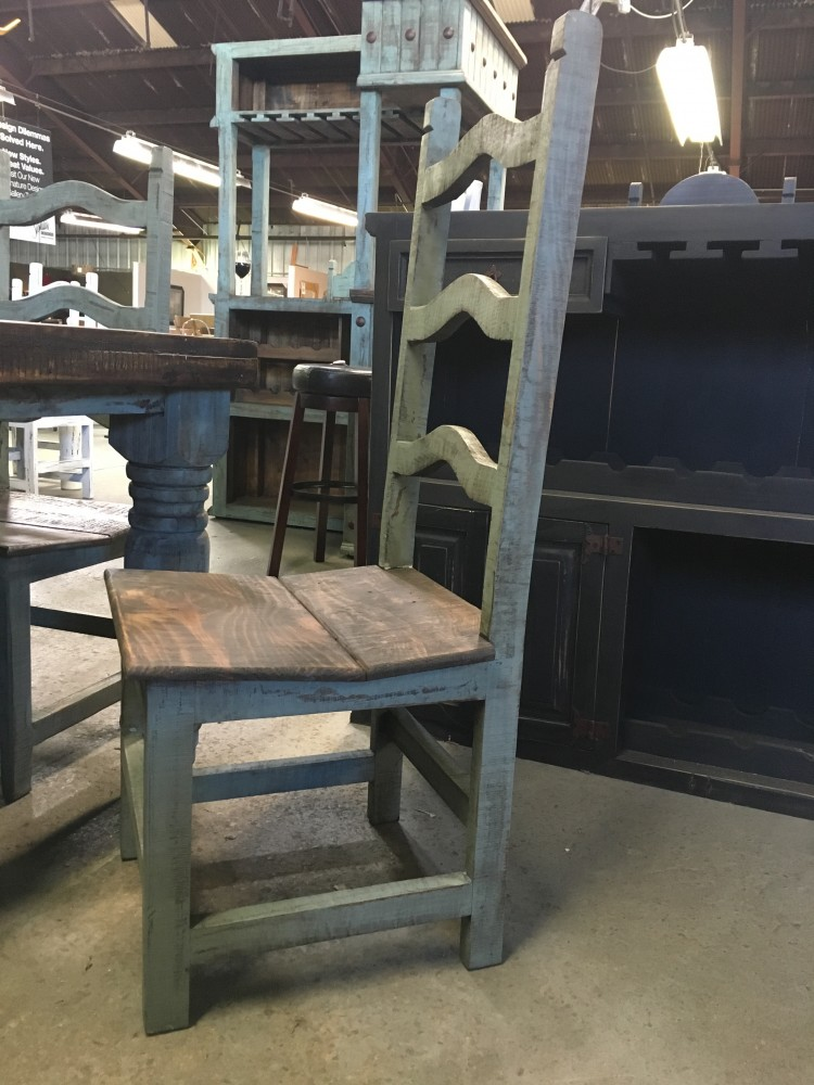 Rustic Canyon Turquoise 5pc Dinette MES 10SIL 03