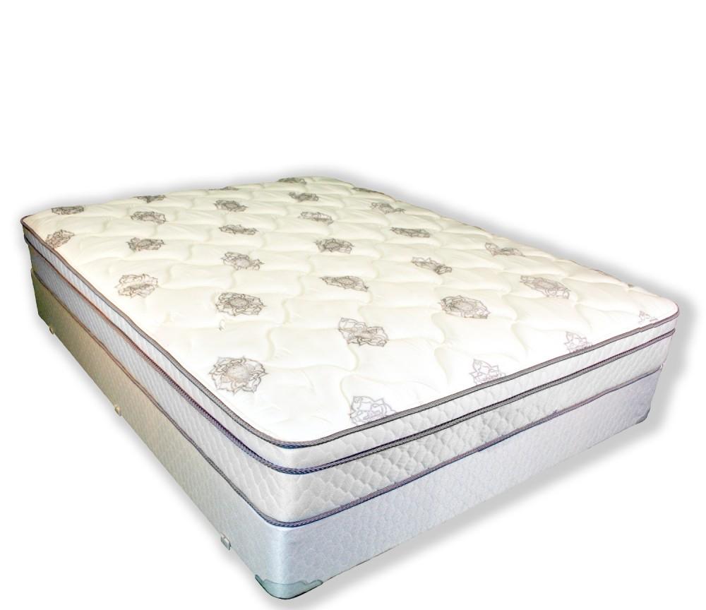 jupiter king euro top mattress and box spring
