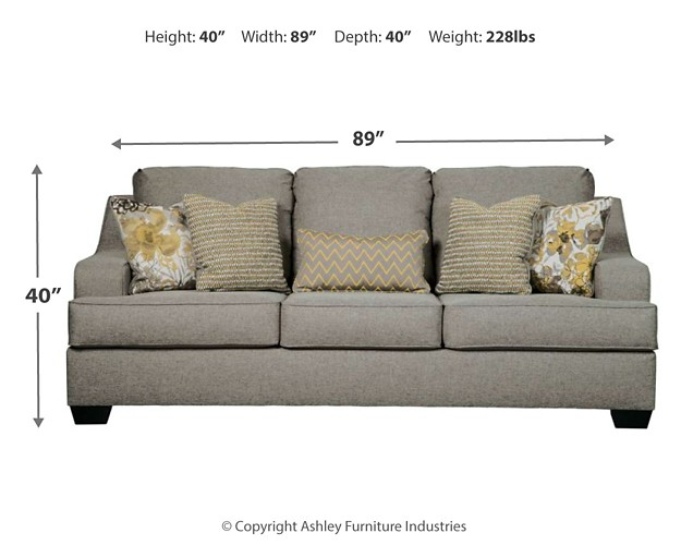 Mandee Pewter Queen Sofa Sleeper 9340439 Sleeper