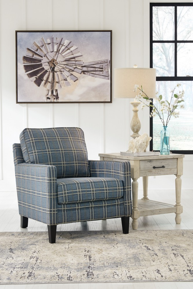 Traemore Linen Accent Chair 2740321 Living Room