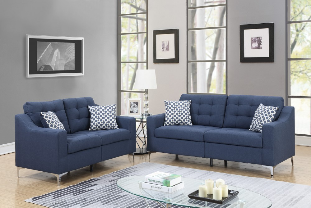 pricebusters special navy sofa love under 500