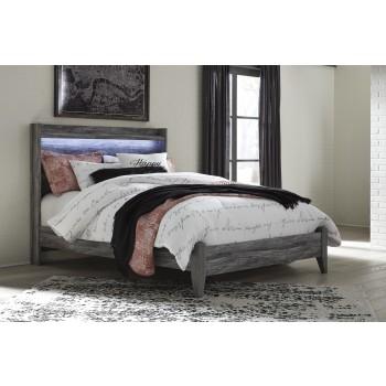 Baystorm Gray Queen Panel Bed B2215754 Complete