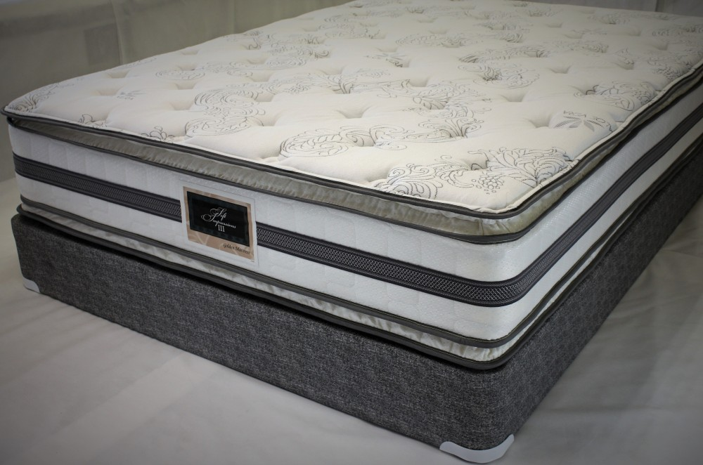 double sided king pillow top mattress