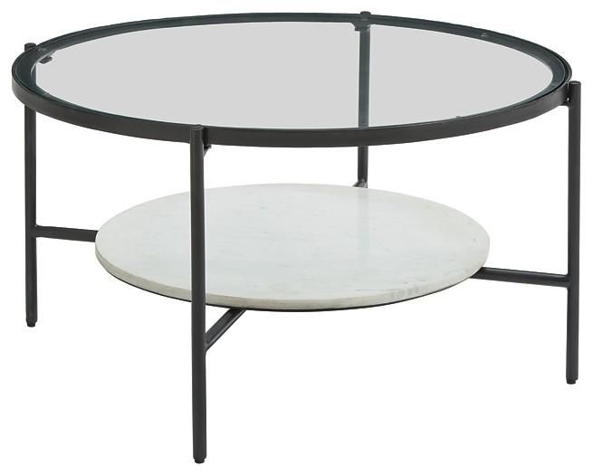 zalany round cocktail table
