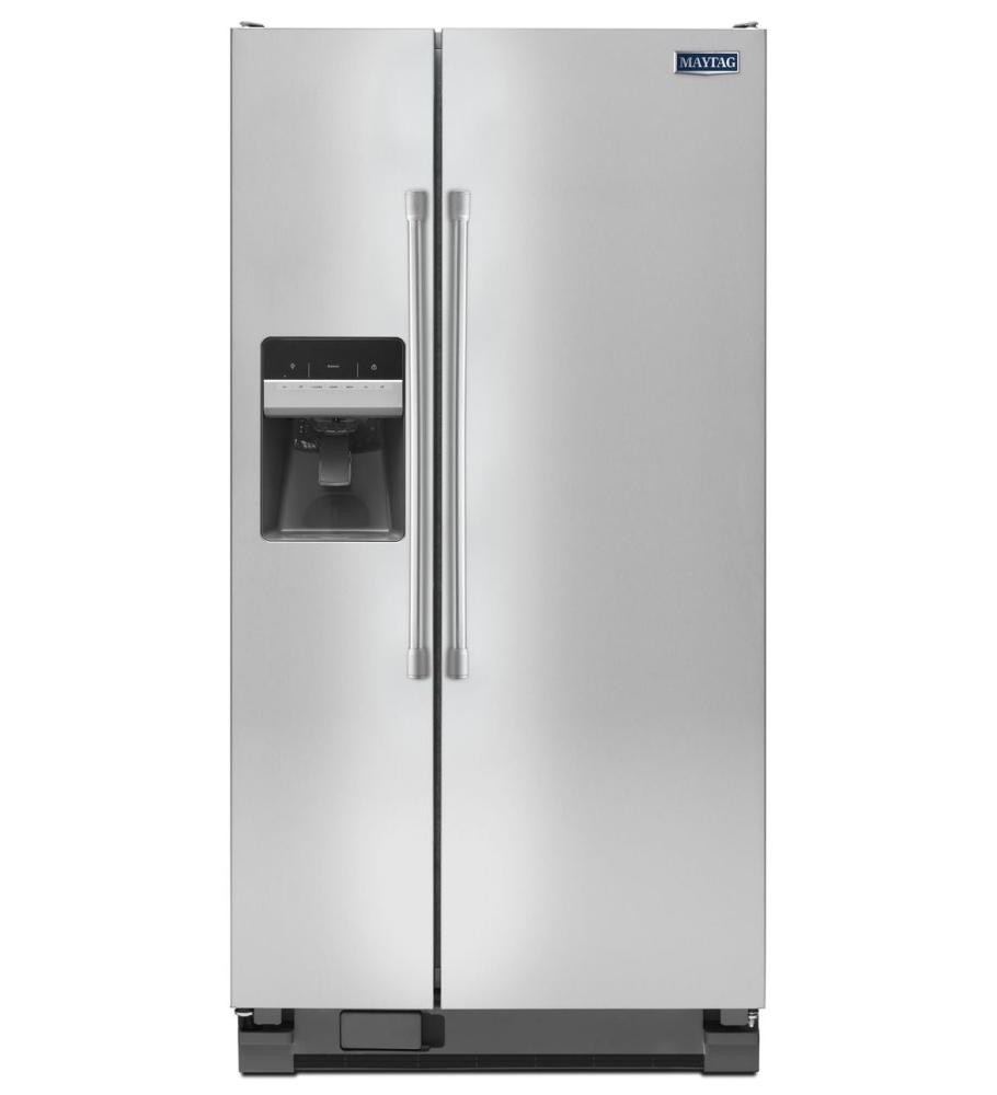 MAYTAG 21 Cu Ft Side By Side Refrigerator With 33 Width