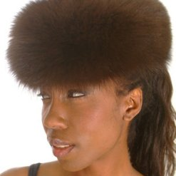 Brown Fox Fur Full Skin Women's