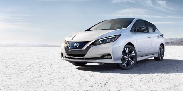 Image result for 2019 nissan leaf electric cars