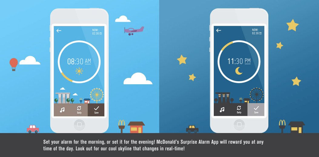 McDonald's Surprise Alarm
