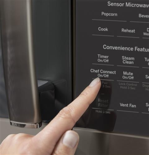 over the range microwave chef connect