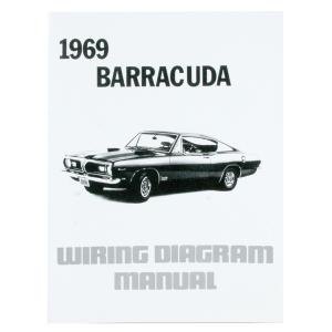 196674 A B EBody 1969 Barracuda Wiring Diagmanual