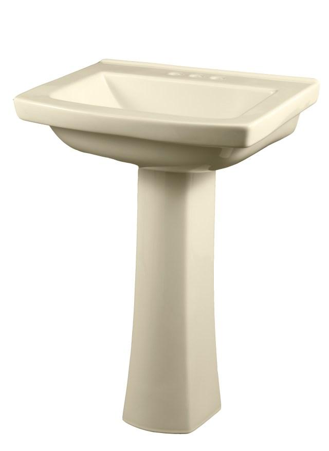 "Blaze 4"" Centers Standard Pedestal Bathroom Sink"