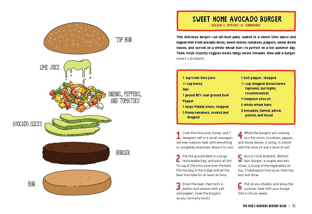 The Bob S Burgers Burger Book Real Recipes For Joke