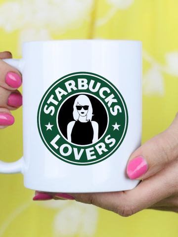 strarbucks lovers mug