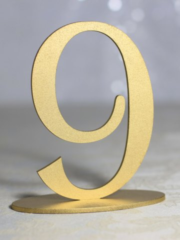 Self Standing Table Numbers