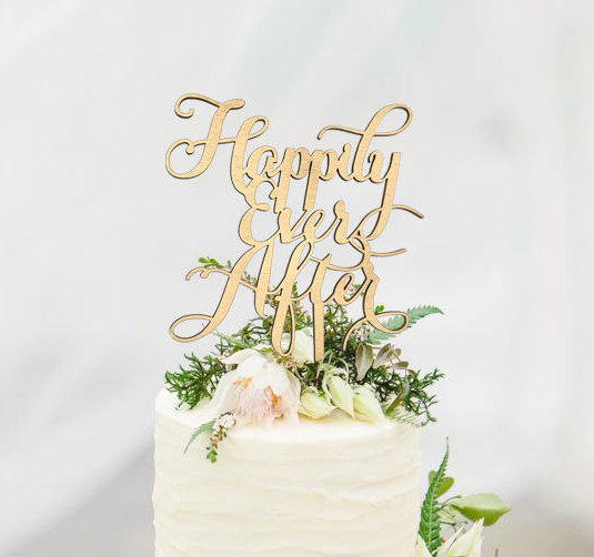 Happily Wedding Cake Topper Shop Cake Toppers And Gifts Gifteve
