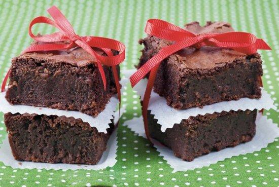 Spiced Chocolate Brownies