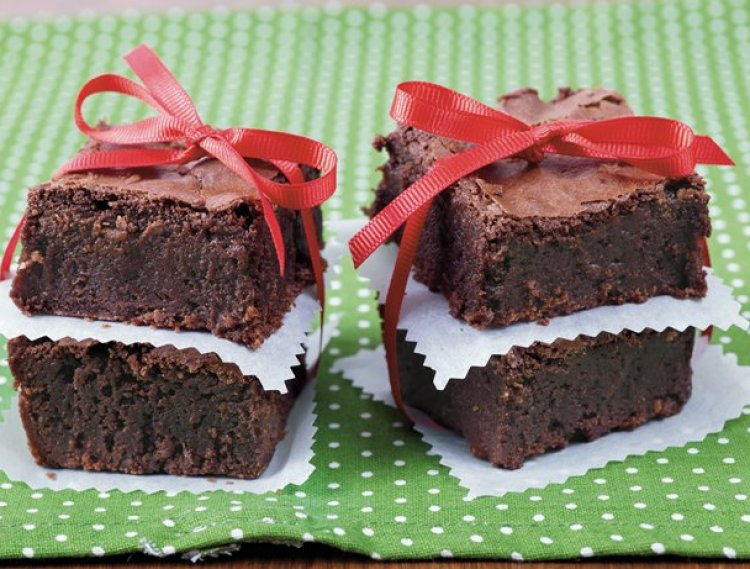 Spiced Chocolate Brownies