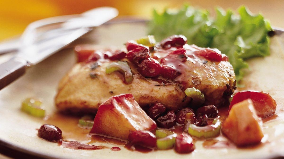 Bisquick* Apple Cranberry Sage Chicken