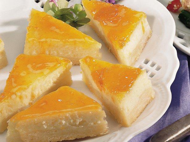 Apricot Cheesecake Bars