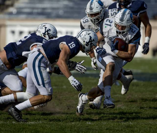 Football Win Streak Ends At Yale 23 6